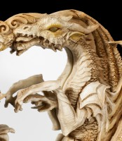 Dragon Wall Mirror - Morgan Theomachia