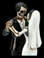 Skelett Figur - Brautpaar Love Never Dies - First Dance