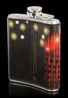 Hip Flask with Elvis Presley - Elvisly Yours