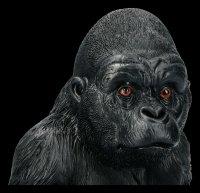 Gartenfigur - Sitzender Gorilla