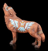 Wolf Spirit Figur - Adler
