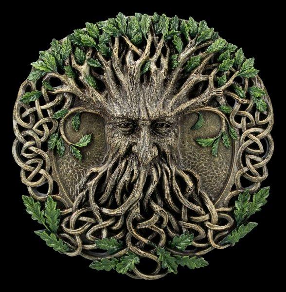 Wandrelief Greenman - Magischer Wald
