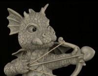 Gartenfigur - Drache der Liebe - Armor