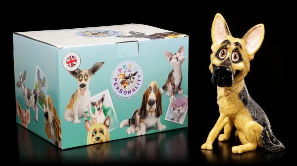 Dog Figurine - German Shepherd Sadie - Pets with Personality