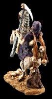 Skelett Figur - Reaper reitend