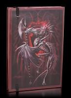 Hardcover Notizbuch - Drache Litch Blade
