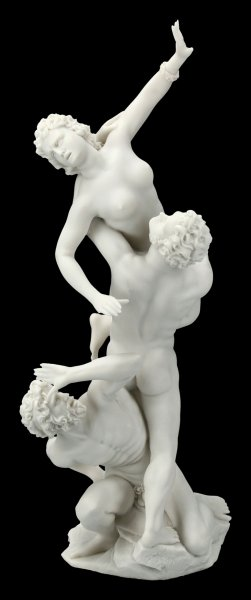 The Rape of the Sabine Women Figurine by Giambologna white