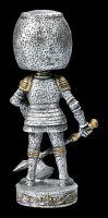 Wackelkopf-Figur - Ritter mit Axt