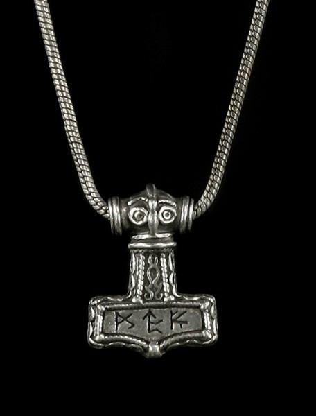 Bindrune Hammer - Alchemy Gothic Pendant