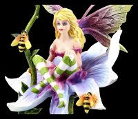 Fairy Figurine - Sala sitting on Flower