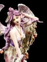 Angel Figurine - Lupiana strokes Wolf