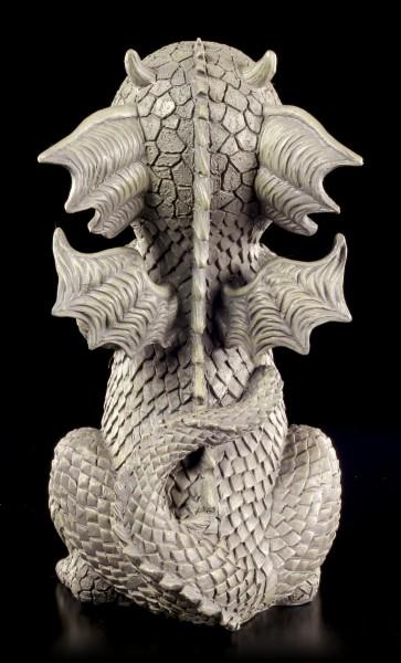 Drachen Gartenfigur - Doggy