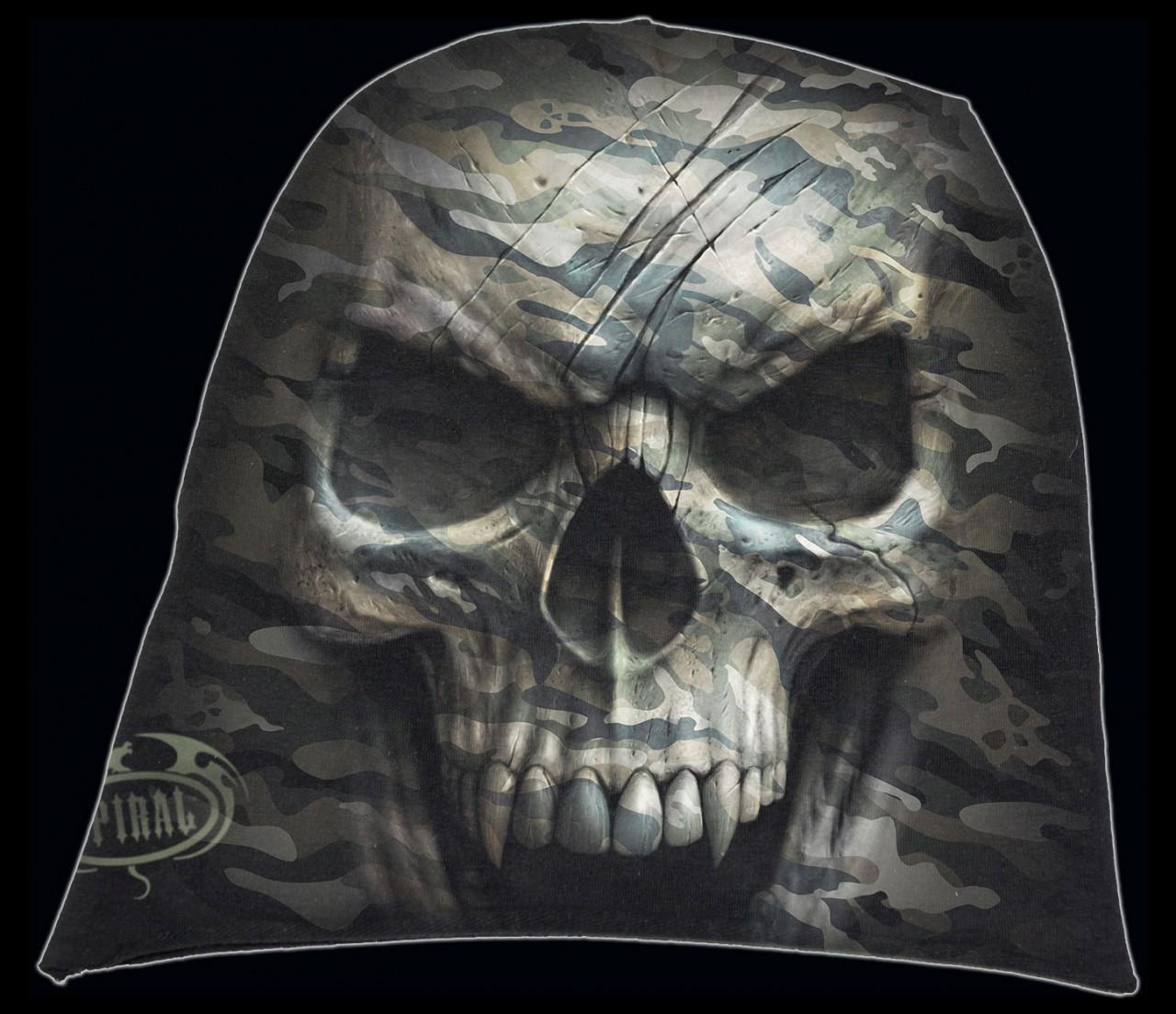 Spiral Totenkopf Beanie - Camo Skull