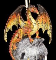 Drachen Christbaum-Schmuck - Hyperion orange