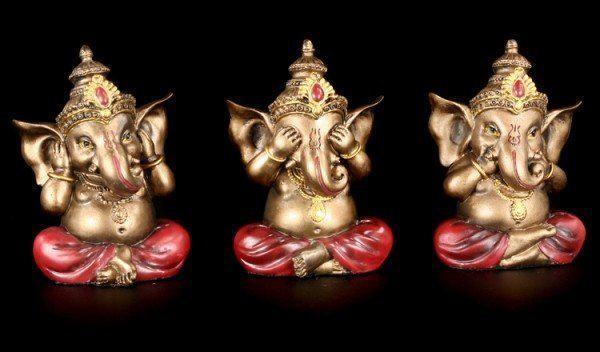 Ganesha Figuren - Nichts böses