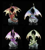 Dragon Figurines - Hoard Collectors - Set of 4