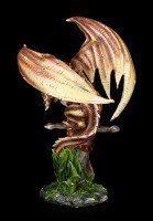 Drachen Figur - Ginbertus auf Schwert