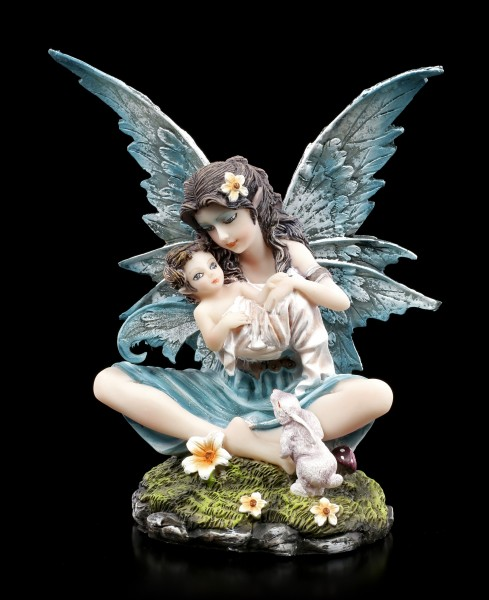 Fairy Figurine - Eira with Baby