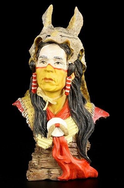 Indianer Büste - Assiniboine