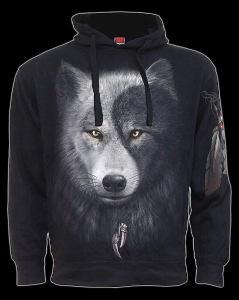 Kapuzenpullover Fantasy - Wolf Chi