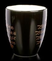 Alchemy Gothic Mug - Black Coffee, Black Clothes