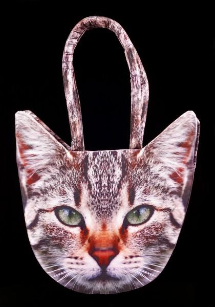 Tier Motiv Tasche - Tabby Katze