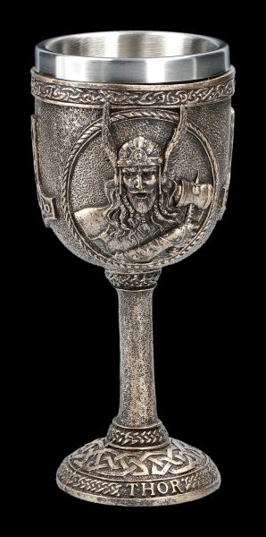 Viking Goblet - Thor with Hammer