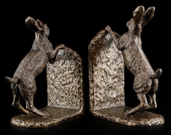 Wicca Buchstützen - Hasen Bramble & Foxglove