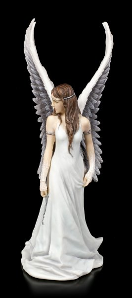 Weißer Engel mit Schlüssel - Spirit Guide