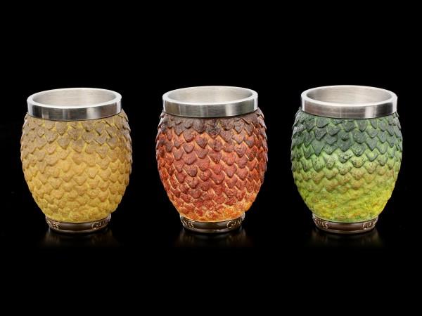 Game of Thrones Shot Glasses Set - Dragon Eggs