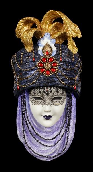 Bunte Venezianische Maske - Caerula