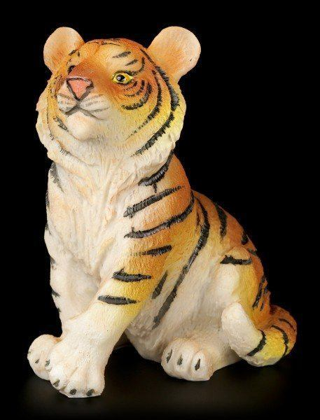 Tiger Baby Figurine - Sitting on the Floor