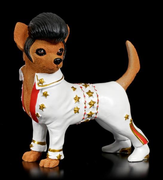 Lustige Hunde Figur - The King Chihuahua