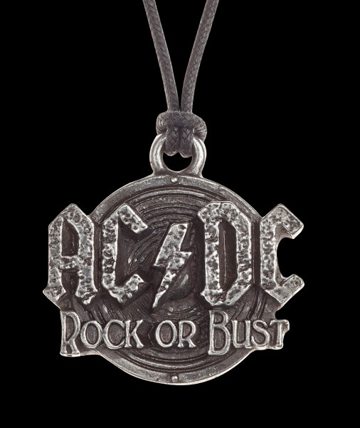 AC/DC Halskette Rock Or Bust - Alchemy Rocks