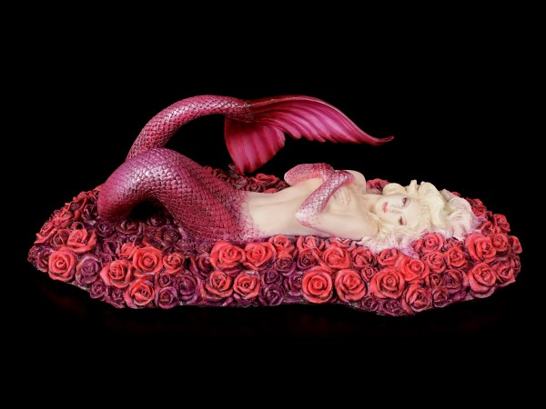 Mermaid Figurine - Sea of Roses