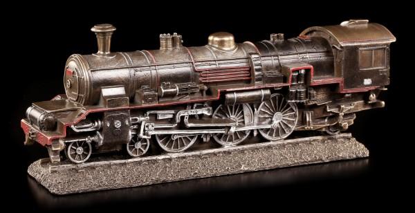 Dampf Lokomotive Deko Figur