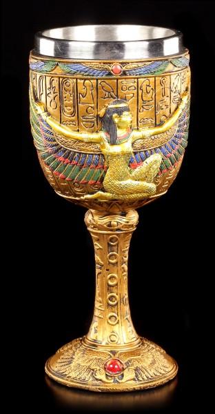 Kelch - Ägyptische Göttin Isis