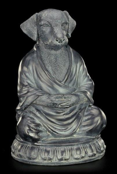 Buddha Figur - Meditierender Hund