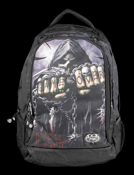 Reaper Backpack with Laptop Pocket - Game Over