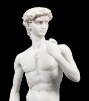 David Figurine white by Michelangelo