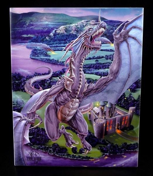 Deko-Fliese groß - Dragons Last Stand - Tom Wood