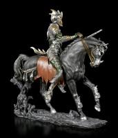Dämonen Figur - Nakaa auf Pferd - bunt
