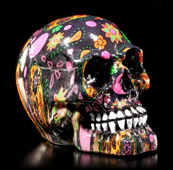 Small Colourful Skull - VIVA!