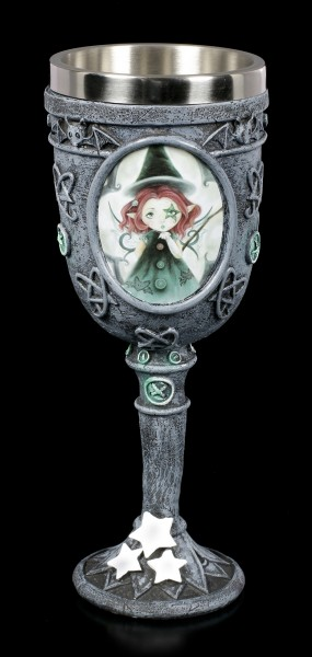 Gothic Fairy Goblet - I'll Put A Spell On You