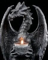 Tealight Holder - Fossilised Dragon