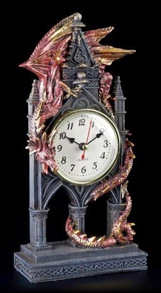 Drachen Tischuhr - Der Zeitwächter - Time Guardian