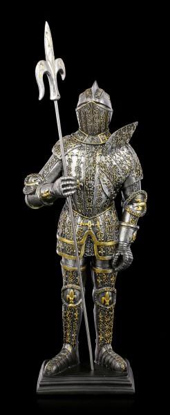 Ritter Figur mit Französischen Lilien