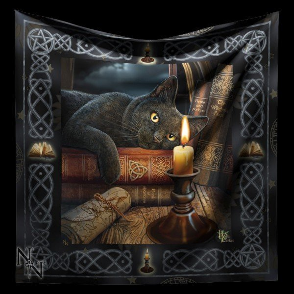 Altardecke Katze - The Witching Hour