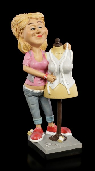 Funny Job Figurine - Dressmaker with Tailor's Dummy