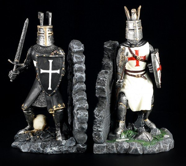 Knight Bookends - The Duell